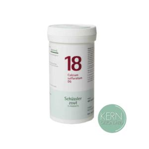 Pflüger Schüsslerzouten Nr. 18 Calcium sulfuratum D6 400 tabletten