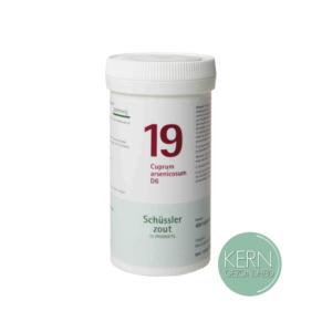 Pflüger Schüsslerzouten Nr. 19 Cuprum arsenicosum D6