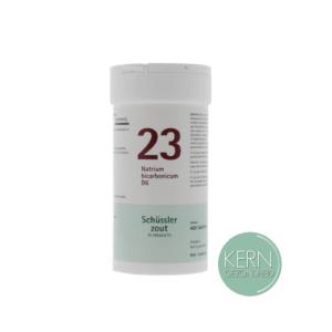 Pflüger Schüsslerzouten Nr. 23 Natrium bicarbonicum D6