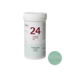 Pflüger Schüsslerzouten Nr. 24 Arsenum jodatum D6 400 tabletten