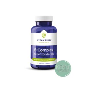 B-Complex Actief zonder B6 VitaKruid Kern Gezondheid